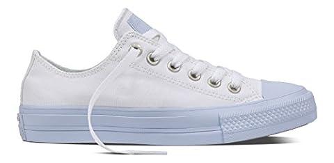 Converse Unisex-Erwachsene All Star II Sneaker, Mehrfarbig (White/Porpoise/Porpoise), 39.5 EU