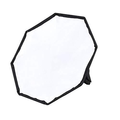 Taidda Tragbare Universal-Flash-Taschenlampe Softbox-Diffusor, 30 cm abnehmbares Nylon Starke Haltbarkeit für externes Speedlite der Digitalkamera -