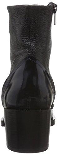 Zinda 2446, Bottes courtes avec doublure chaude femme Noir - Noir
