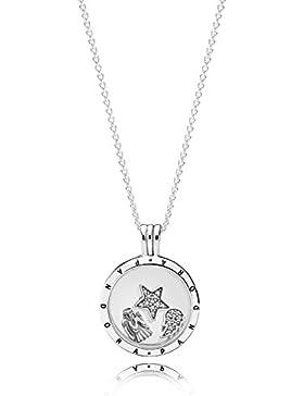 Pandora Medaillon-Set mit Halskette Schutzengel 35953