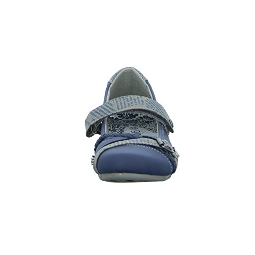 girlZ onlY 2762403 Mädchen Ballerina Sportboden Blau (Blau)