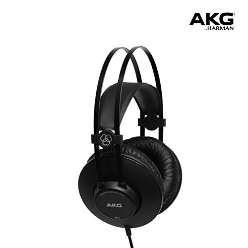 AKG K52 Closed-Back Headphone (Black)