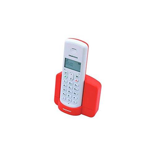 Daewoo electronics - Telefono inalambrico dect daewoo dtd-1350 rojo