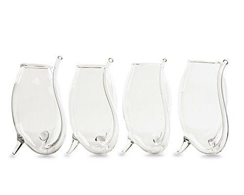 Elegante Port Portwein–Die Wein genießen Savant Port Sipper Gläser 4er Set