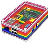RASPBERRY PI, PIBOW RAINBOW CASE 1 By PIMORONI