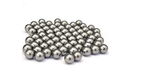 1 kg, 6-11 mm, elastische Kugel aus Kohlenstoffstahl für Schleuder oder Luftgewehr oder Auswurfgewehr, wiederverschließbare Verpackung@8 mm (9 Mm Luftgewehr)