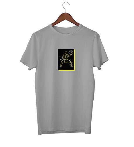 arrior Fight_KK017523 Shirt T-Shirt für Männer Herren Tshirt for Men Gift for Him Present Birthday Christmas - Men's - Medium - White ()