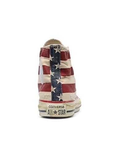 Converse Ctas Union Jack 135504C, Sneaker Unisex adulto Rosso