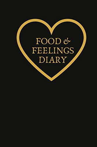 Detox-plan (Food & Feelings Diary: Small Lined Ruled A5 Notebook (6
