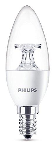 Philips LED Lampe ersetzt 40 W, EEK A+, E14, warmweiß (2700 Kelvin), 470 Lumen, klar, 8718696454770