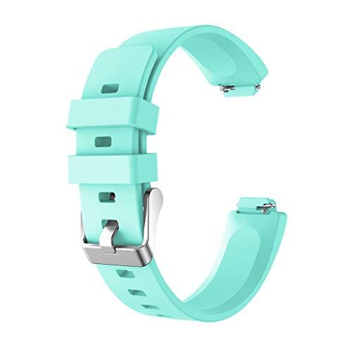 XNBZW Sport silikon Armband Armband für Fitbit Inspire/Inspire HR(Minzgrün)