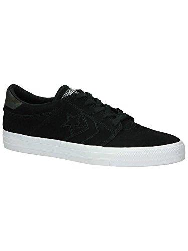 Converse Herren Sneaker Contro Tre Star Suede Bue - Nero / Nero / Bianco Nero / Nero / Bianco