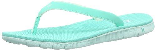 Hurley (Shoes) - Phantom Nike Free Sandal, Infradito Donna Turchese (Türkis (Aquamarine))