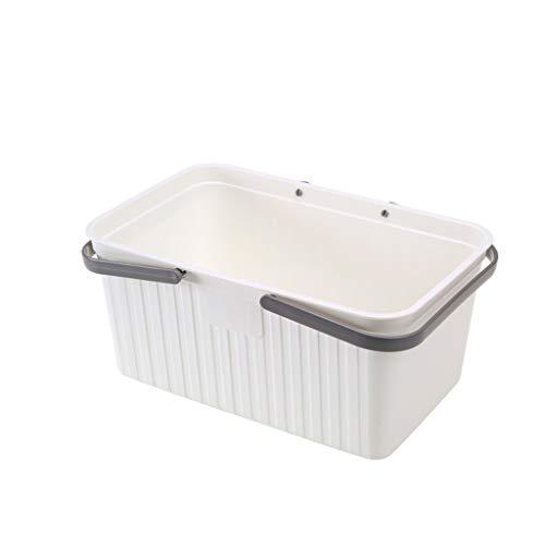 GPANGDEDIAN Baden Bad Kid Storage Bath Basket Bath Portable Kunststoff waschen Lagerung Bad Lagerung und einfach zu organisieren ()