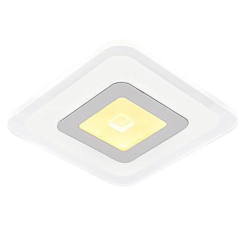 Moderne Créative LED plafonnier Luminaire Blanc Max 15W pour Salon