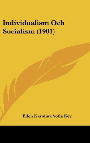 Individualism Och Socialism (1901)