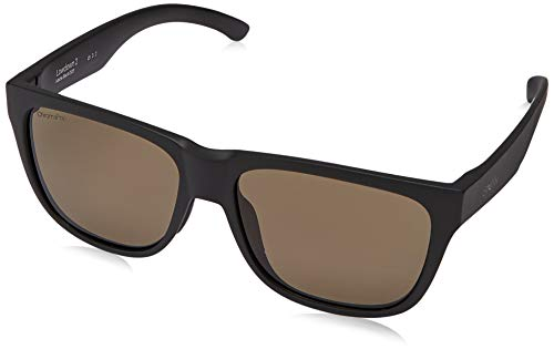 Smith SONNENBRILLEN LOWDOWN 2 003 L7 BLACK POLARIZED CHROMAPOP LENSES