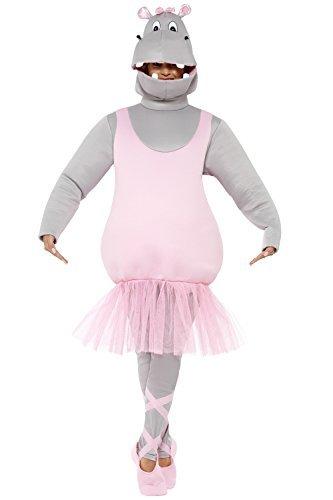 Imagen de hippo ballet disfraz bailarina hipopótamo disfraz ballet hipopótamo disfraz jga tutu animales disfraz soltero disfraz de cuerpo entero zoo divertido carnaval disfraz disfraces animales