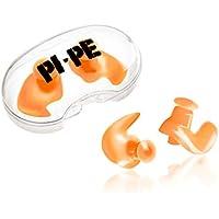 Pi-Pe Niños Tapones para nadar–Evita Agua oído–Fácil einsetzbar–No Pulsar–Impermeable de silicona–2Unidades con caja