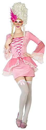 Französische Kurtisane Kostüm - ATOSA 38648 Kurtisane Damen mehrfarbig