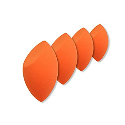 SONGQEE(TM) 4Pcs Cut Makeup Beauty Miracle Foundation Puff Sponge Blender Flaw Blender?1.46*1.42inch? from SONGQEE