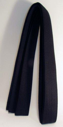 Karate Gürtel (schwarz) 320cm extra lang, spezielle, Karate, Kickboxen, Shotokan, shito-ryu, Goju Ryu, alle Arten von Kampfsport, Budo, Dojo Arts Kampfsportgürtel