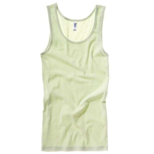 Bella Canvas Baby-Rippe Tank Top Lime S