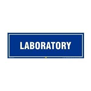 Mr. Safe – Laboratory Sign Sign PVC Sticker 12 Inch X 4 Inch