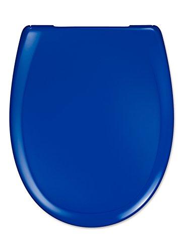 "Cedo WC Sitz ""Kapalua Beach"" In Popblau mit Absenkautomatik Softclose Classic® , abnehmbar mit TakeOff Original® Abnahmefunktion; aus Duroplast für ovale Keramiken mit"