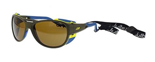 Julbo Explorer 2.0 Sonnenbrille, Army, Cameleon Anti-Beschlagen Photochrom Polarisierten Brillengläser, Mittelgroß/Groß