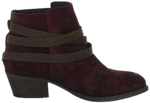 Hudson London HORRIGAN Damen Chukka Boots Rot (Bordo)