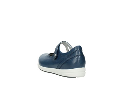 Wolky Comfort Sneakers Electric 30840 jeans Leder