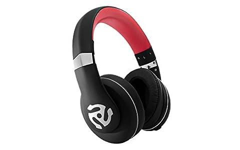 Numark HF350 Casque Audio DJ Professionnel Circum-Auriculaire Pliable avec la Qualité de Son Légendaire de Numark
