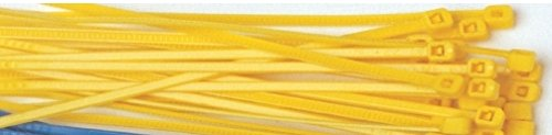 COLLIER NYLON JAUNE 2,5 x 100 mm - 100 Piéces