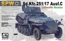 AFV Club 35118       Model Kit Special Automotive 251 17  Various Herman Goering