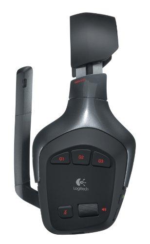 Logitech G930 PC-Gaming Kopfhörer (schnurlos, für PC) schwarz - 5