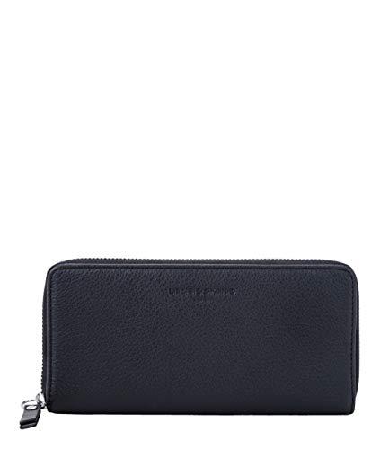 Liebeskind Berlin Damen Basic SLG-Gigi Wallet Large Geldbörse, Schwarz (Black), 2x10x19 cm