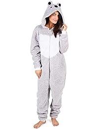 Pijama Entero Mujer con Unicornios Koala Perro Gato Koala Dinosaurio Pijamas de Animales Onesie Todo en Uno