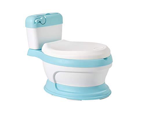 Glenmore Vasino Water Mini Forma di WC per Bambini Bambino Lavandino Bimbo Gabinetto Bimbi Blu