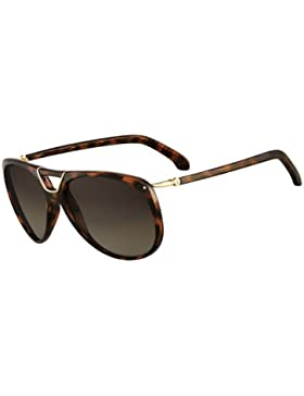 CK Calvin Klein Damen Piloten Sonnenbrille CK3147S 004 braun