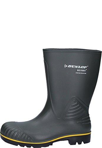 Dunlop B440631.AF ACIFORT KUIT Unisex-Erwachsene Langschaft Gummistiefel Oliv / Grün