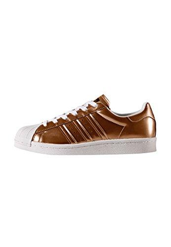 adidas Superstar Boost W Copper Metallic White cuivre blanc