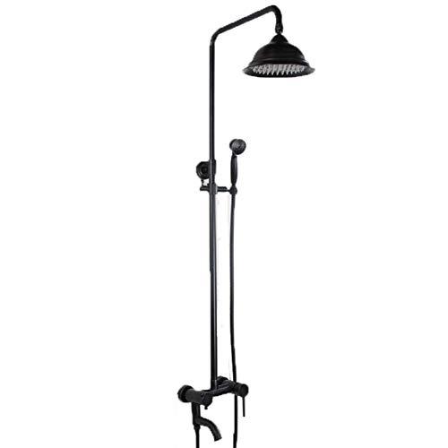 BAIF duschset wandbrause handbrause Retro dusche schwarz Bronze Aufzug duschset - Delta Handbrause Bronze