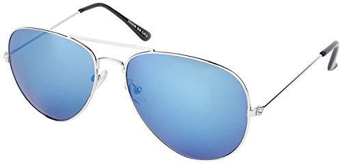Unbekannt Pilotenbrille Sonnenbrille blau