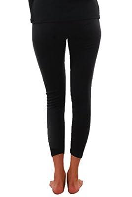Yorker Black Designer Thermal Lower/Pyjama for Women's
