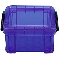 KILLYSUFUY Caja de Almacenamiento de Color de Caramelo para el hogar con Tapa Clip de Bloqueo Color de Caramelo Shoebox de plástico Transparente Señora Caja de Almacenamiento de Zapatos apilable