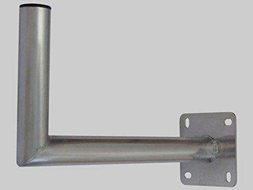 TomTrend Wandhalter Aluminium 45 cm TÜV geprüft 50 mm Rohrdurchmesser