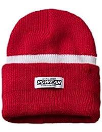 Amazon.es  Los Puntos - Rojo   Gorros de punto   Sombreros y gorras ... dc798ed2540
