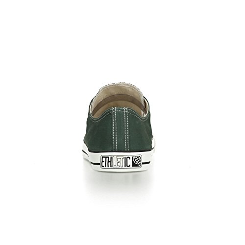 Ethletic Sneaker LoCut – reseda green / white – stylische fair trade Schuhe - 4