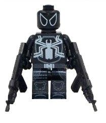 Agent Venom mini figure building blocks compatible figure, Spider-man, Venom, Marvel, Flash Thompson